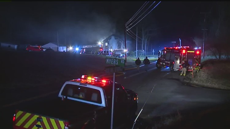 Two People Dead, Including Firefighter in Two-Alarm House Fire in Cumberland County