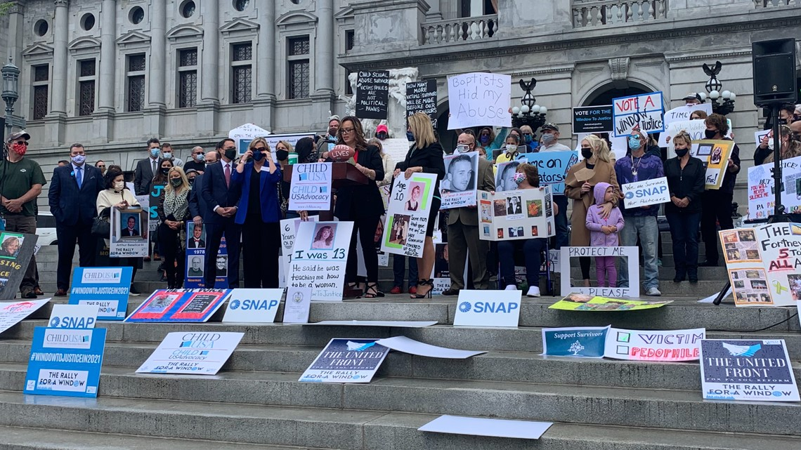 Child sex abuse survivors push for bill that would give them more time to hold their predators accountable