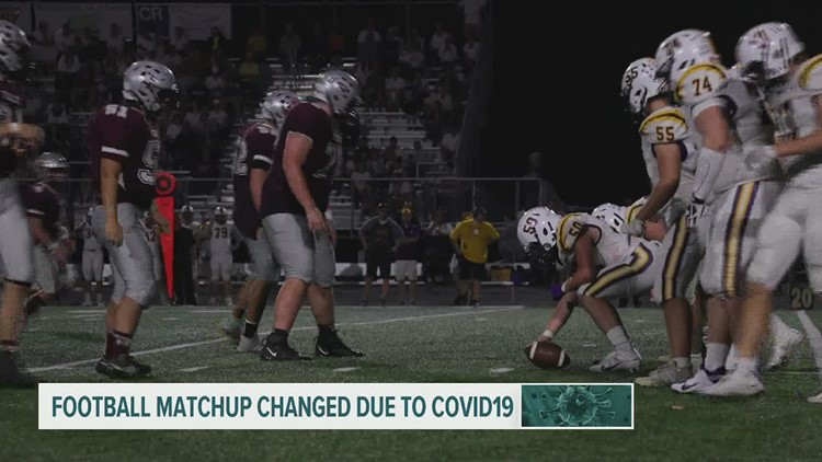 COVID-19 forces high school football teams to make alternative plans