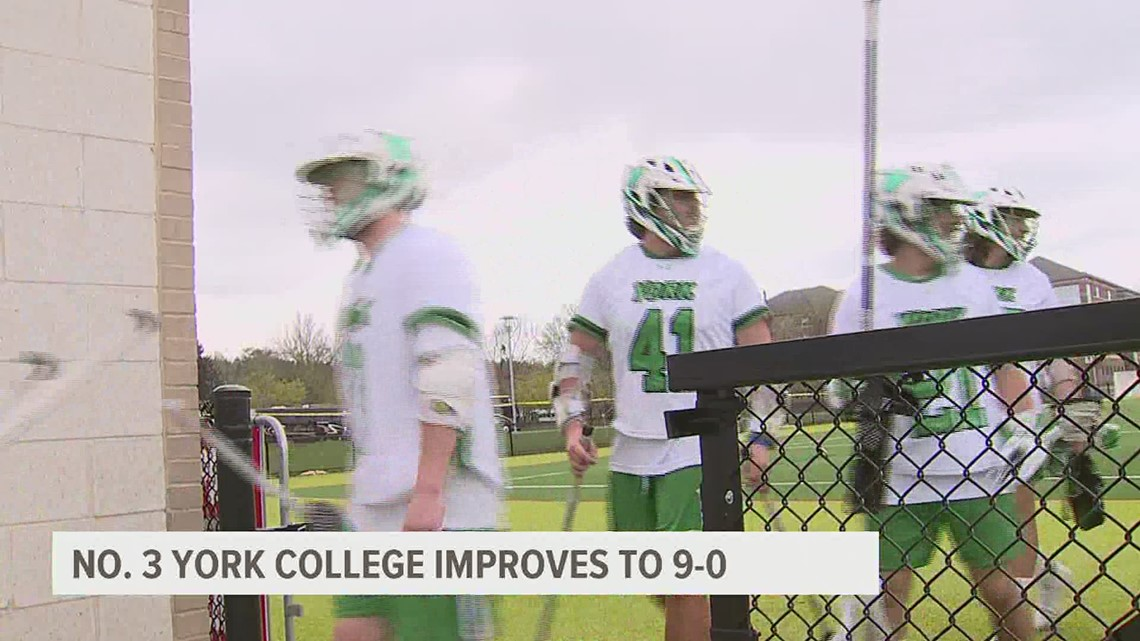 York College improves to 9-0 on the season