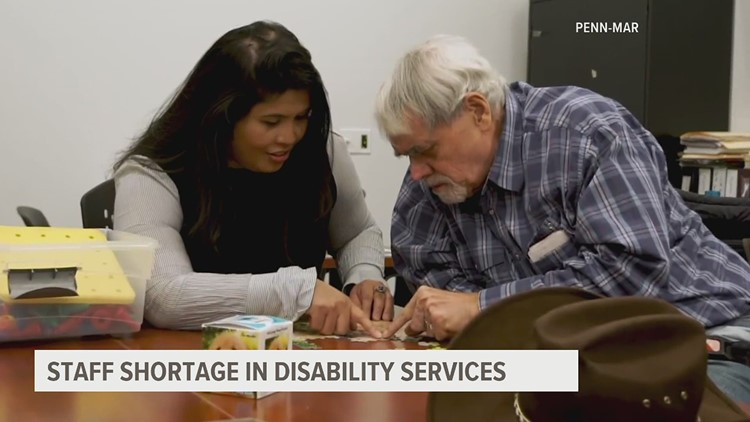 A workforce in crisis: Disability services are seeing a shortage of direct support staff