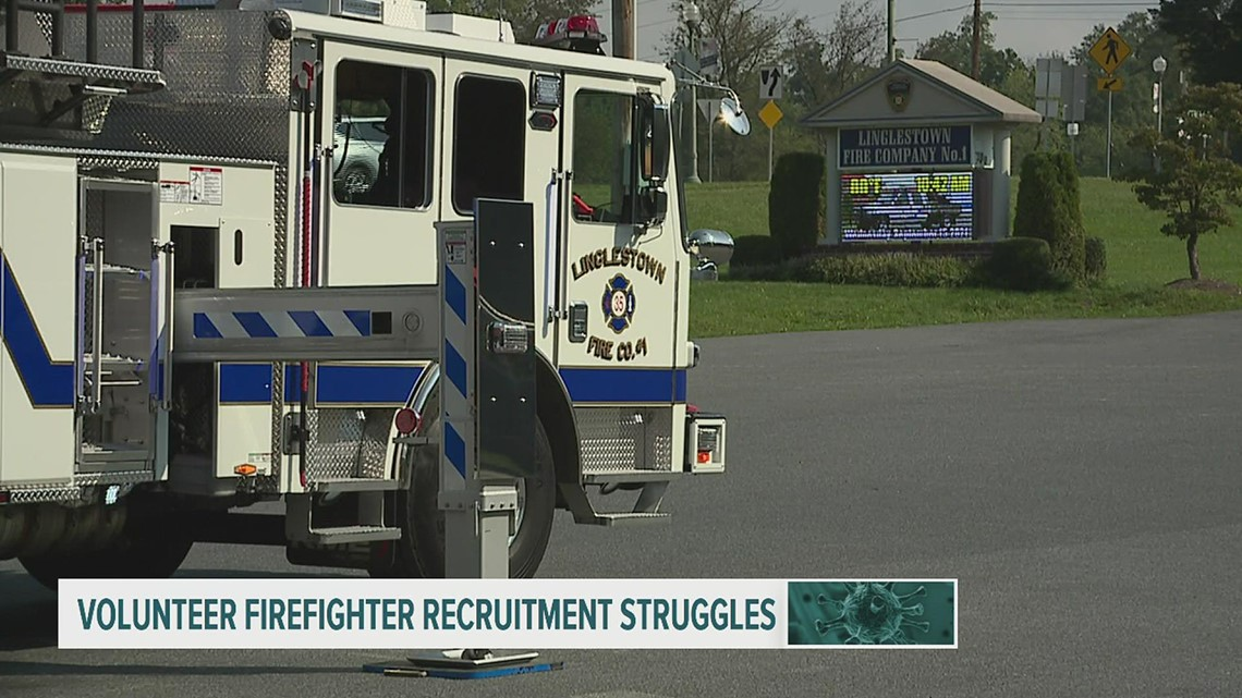 Sounding the alarm: fire service aging, recruitment numbers down across Pennsylvania