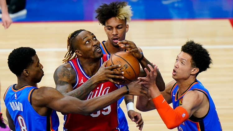 76ers hand Thunder franchise worst-tying 14th straight loss