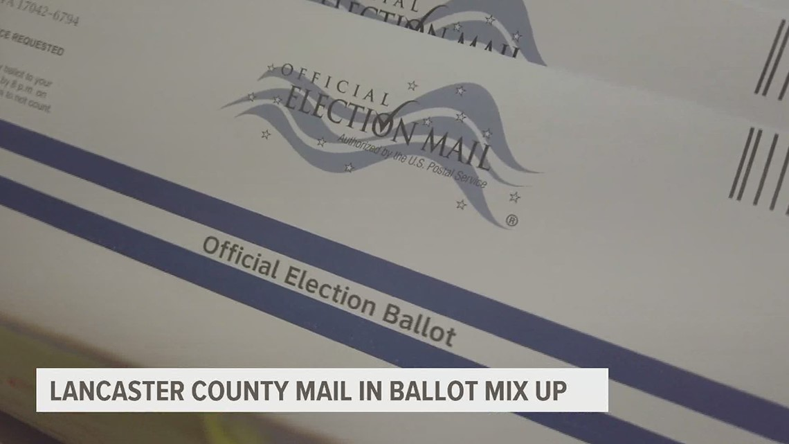 Mix up with mail-in ballot instructions causes confusion and frustration in Lancaster County