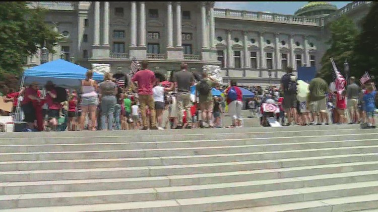 Assemble to Freedom Rally in Harrisburg