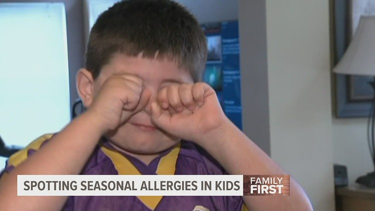 How to spot seasonal allergies in your kids | Family First with FOX43