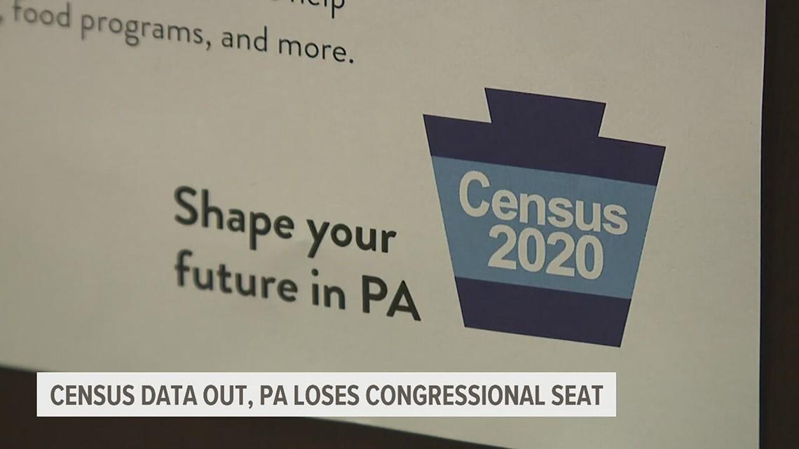 Pennsylvania to lose U.S. House Seat, according to Census data