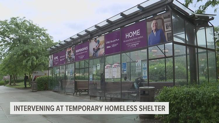 Harrisburg officials intervene at bus shelter