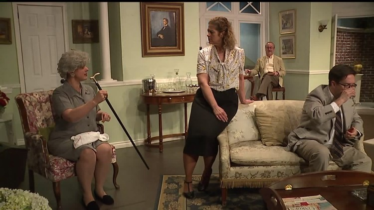 """The love tryst turned murder mystery in the Agatha Christie classic """"Towards Zero"""" at Oyster Mill Playhouse"""