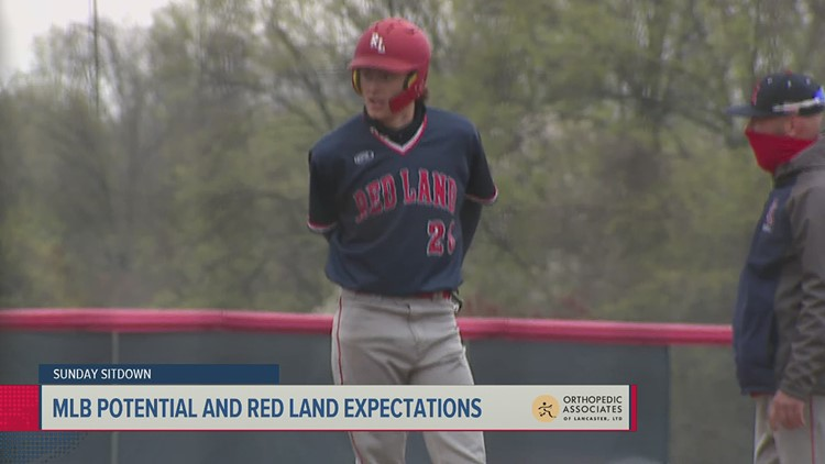 Red Land star outfielder talks possible MLB future | Sunday Sitdown