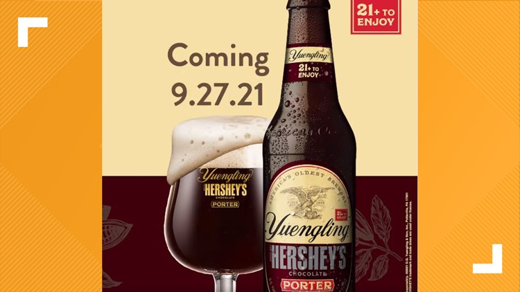 Attention, beer fans: Yuengling Hershey's Chocolate Porter is back
