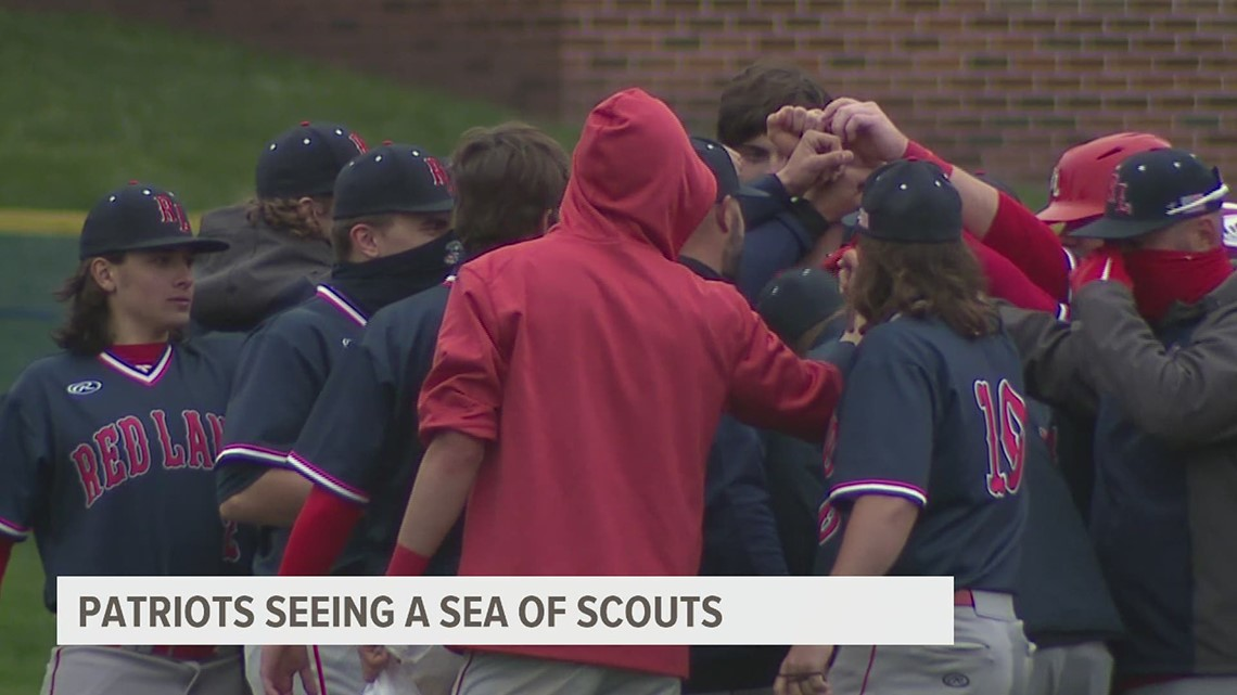 Red Land sees success while being watched by sea of scouts
