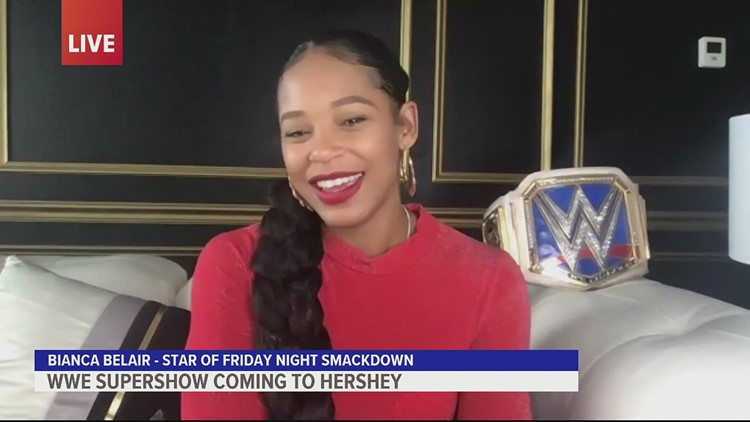 Star of Friday Night SmackDown, Bianca Belair, talks WWE, her trip to Hershey, and more