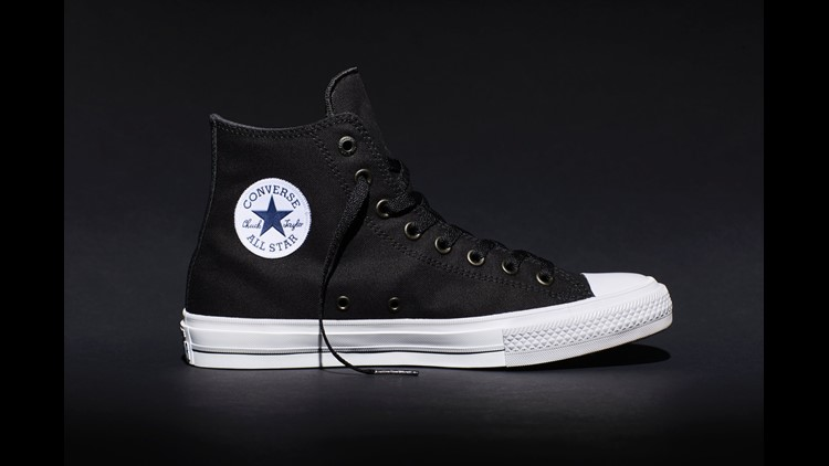 Converse redesigns iconic Chuck Taylor