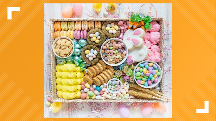 Here are some creative, edible crafts to make for Easter