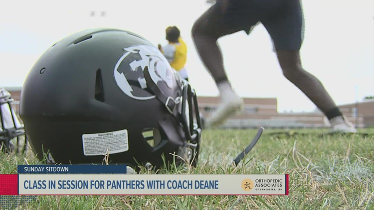 Class in session for C.D. East Panthers  with Lance Deane   Sunday Sitdown
