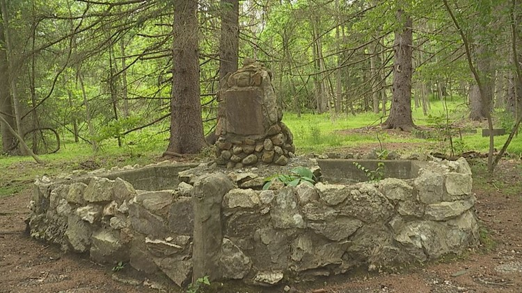Remains of secret WWII P.O.W. interrogation camp still lie deep in Cumberland County forest