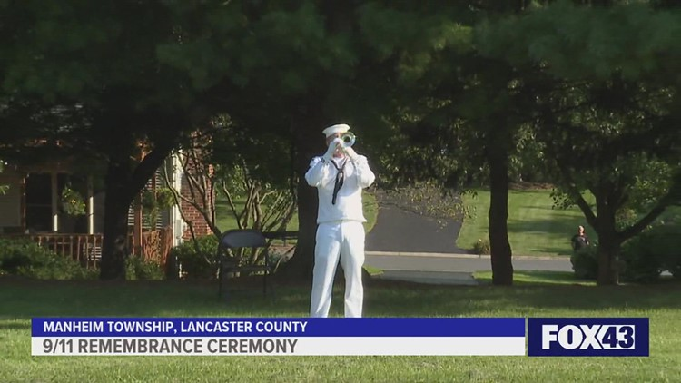 The Manheim Township Historical Society hosts  9/11 remembrance ceremony