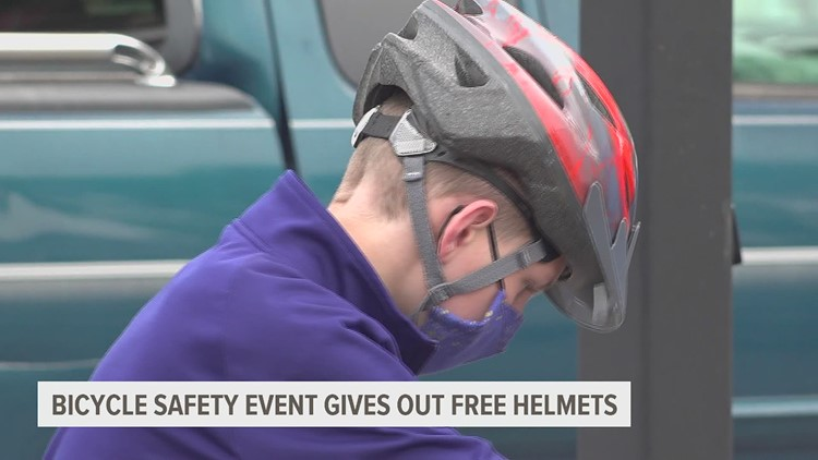 Bicycle safety event in York gives out free helmets to raise awareness for traumatic brain injury
