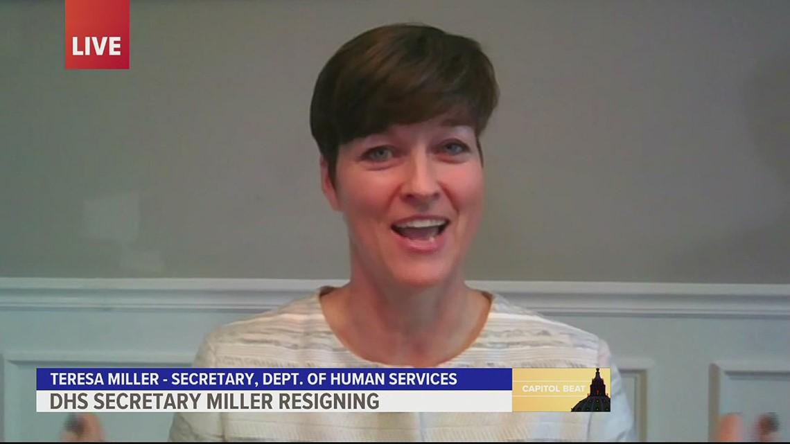 DHS Secretary Teresa Miller talks resigning, department response to COVID-19 | FOX43 Capitol Beat