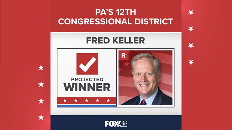 Republican Fred Keller wins re-election in U.S. House 12th District race