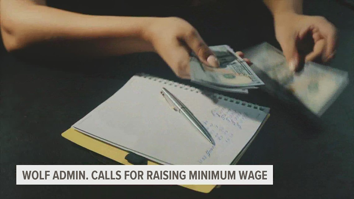 Wolf administration calls for $12 minimum wage with pathway to $15 by 2027