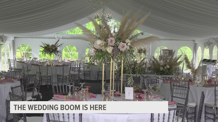 Central PA sees a wedding boom as couples rush to the altar to say 'I do'