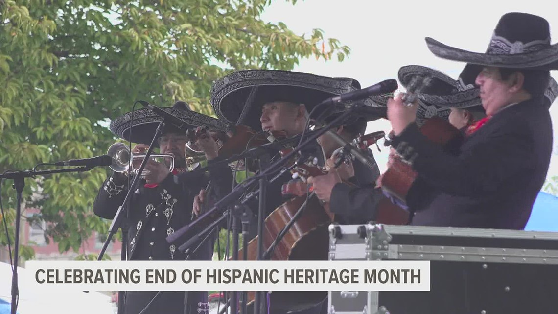 The Spanish American Multicultural Resource Center celebrates last day of Hispanic Heritage Month