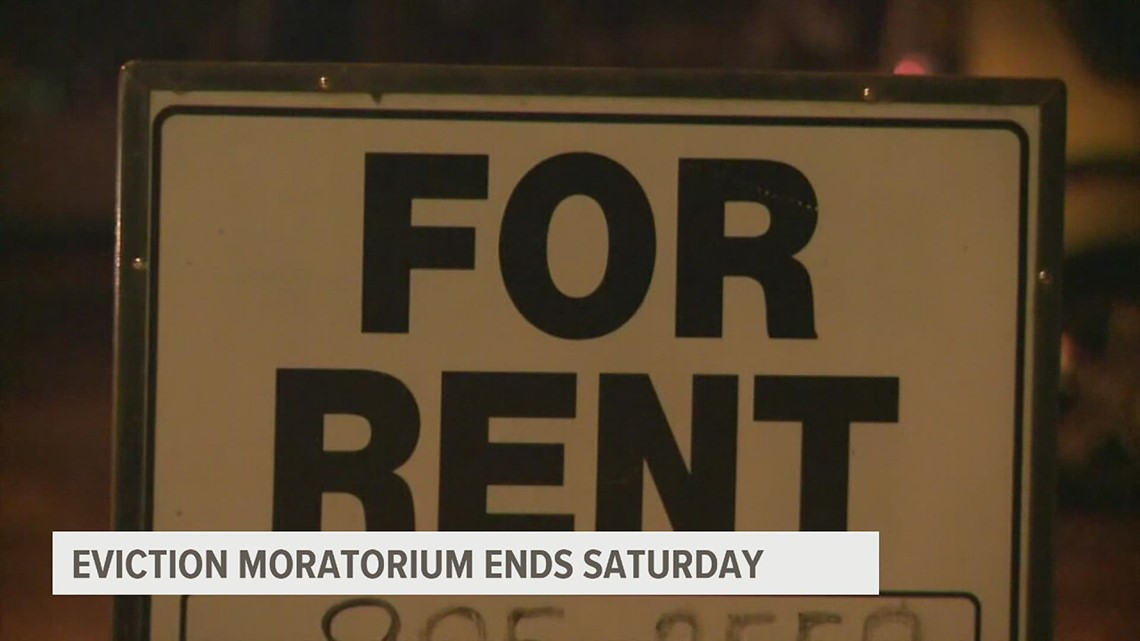 National eviction moratorium ends