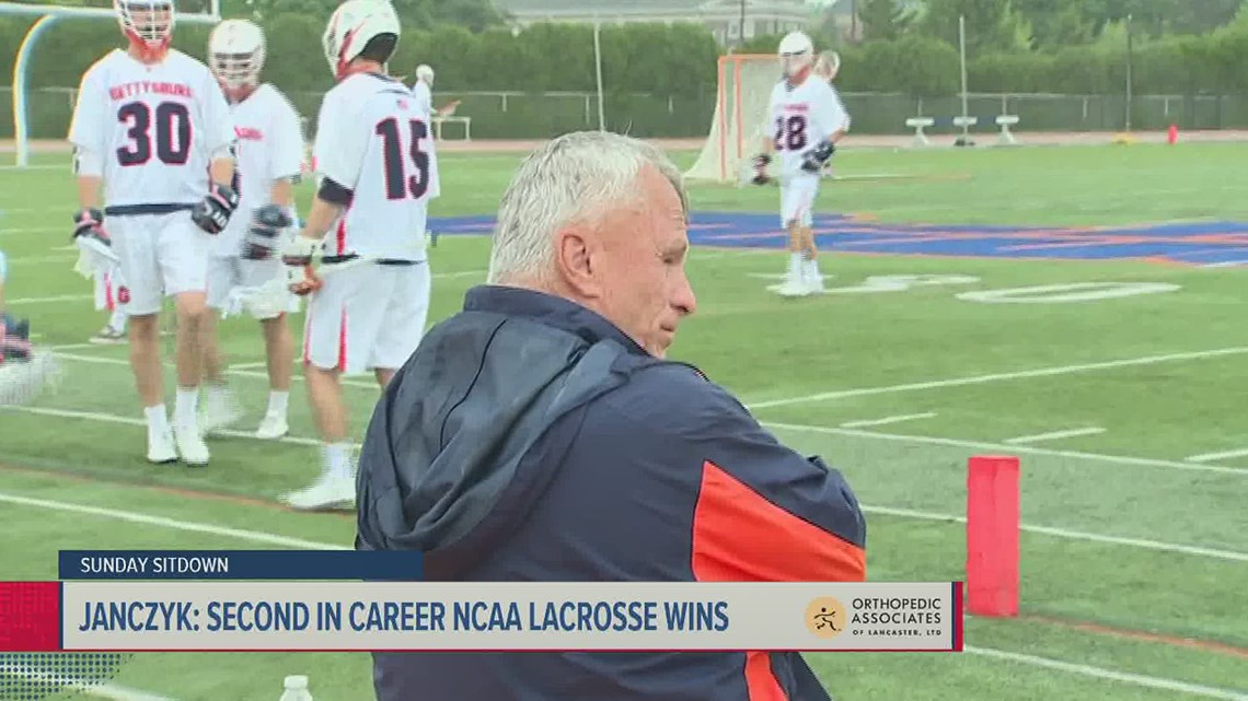 Gettysburg's Janczyk steps away after nearly 40 years on LAX sidelines   Sunday Sitdown