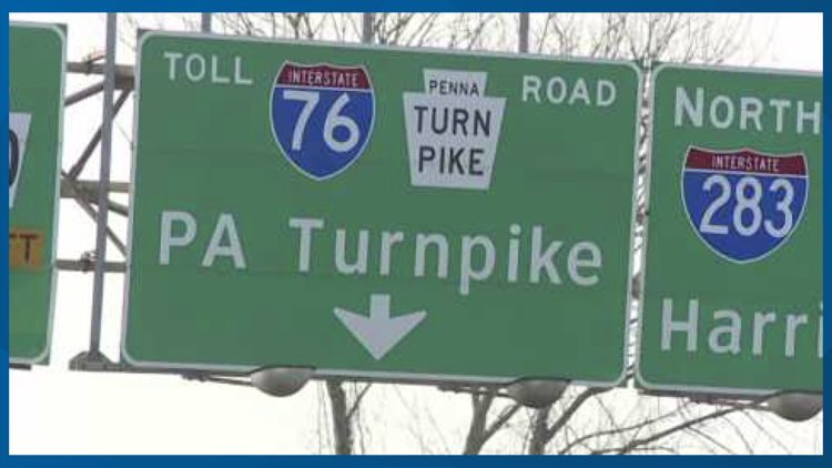Traffic lane shifts scheduled for this week at Kittatinny, Blue Mountain tunnels on PA Turnpike in Franklin County