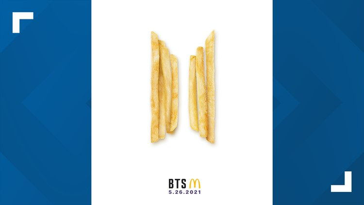 McDonald's will introduce the brand-new 'BTS Meal,' inspired by the iconic pop supergroup, next month