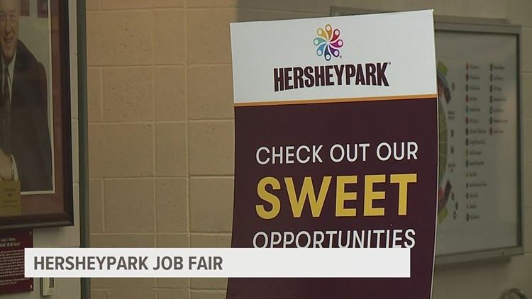 Hersheypark held first in-person hiring event of the season