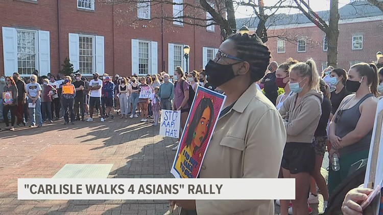Carlisle rally supports Asian and Asian American communities