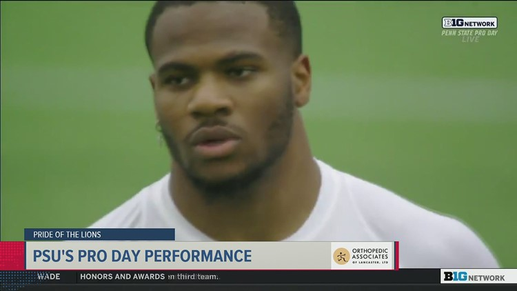 PSU Pro Day impresses NFL scouts and former Nittany Lions | Pride of the Lions
