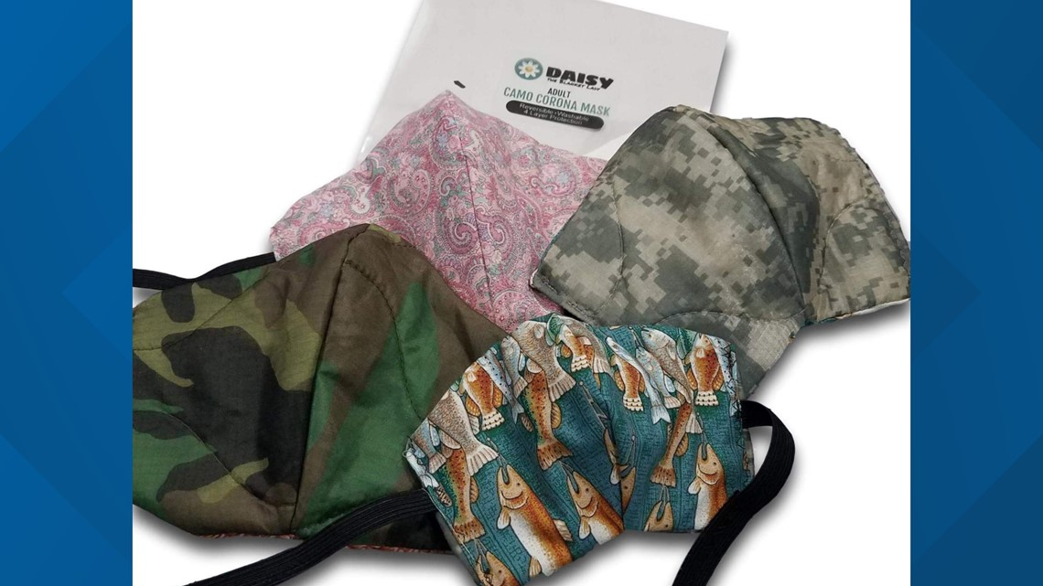 York for  veterans COVID-19 masks woman sewing cloth