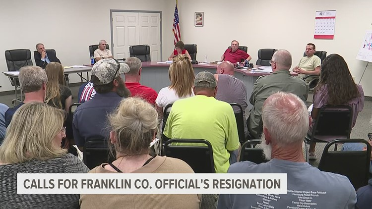 Franklin County official charged for allegedly misusing taxpayer funds
