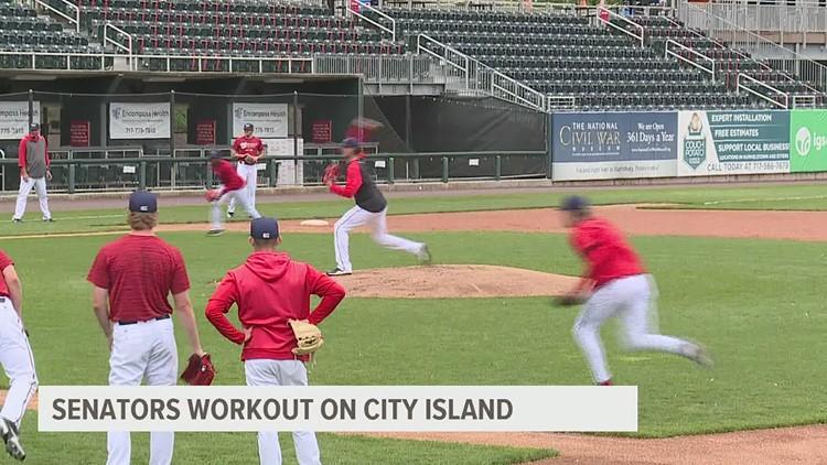 Senators baseball is back on City Island