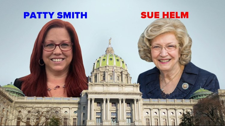 PA House District 104: Sue Helm (R) vs. Patty Smith (D)