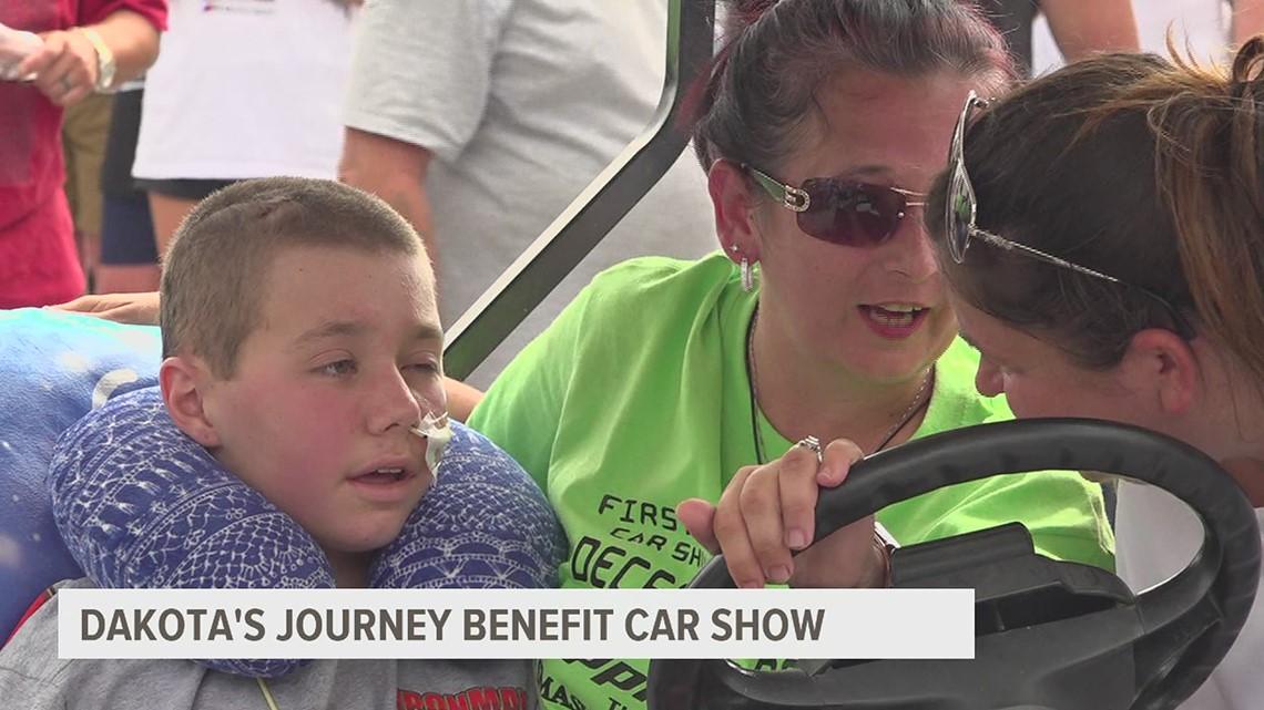 Benefit car show for Dakota's Journey