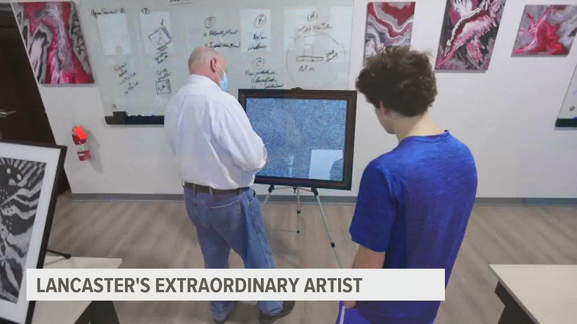 Lancaster teen artist with autism sees career take off