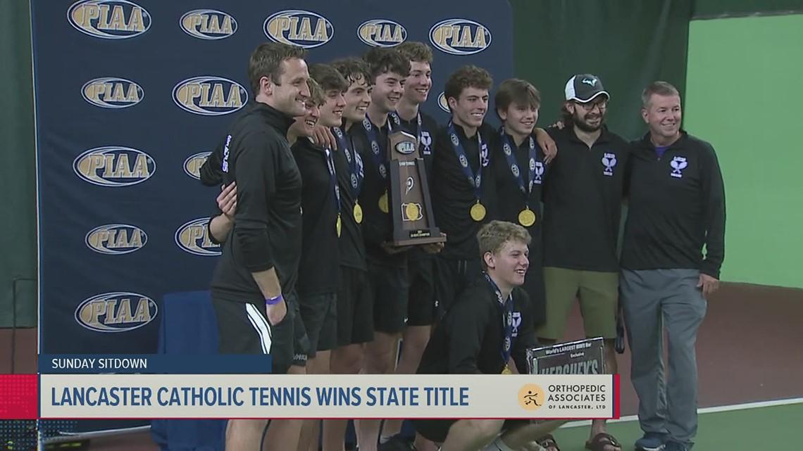 Sunday Sitdown: Lancaster Catholic State Champion Tennis Team