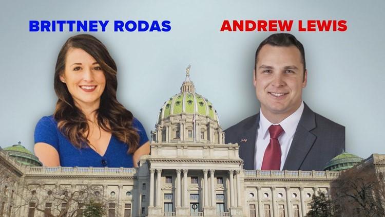 PA House District 105: Andrew Lewis (R) vs. Brittney Rodas (D)