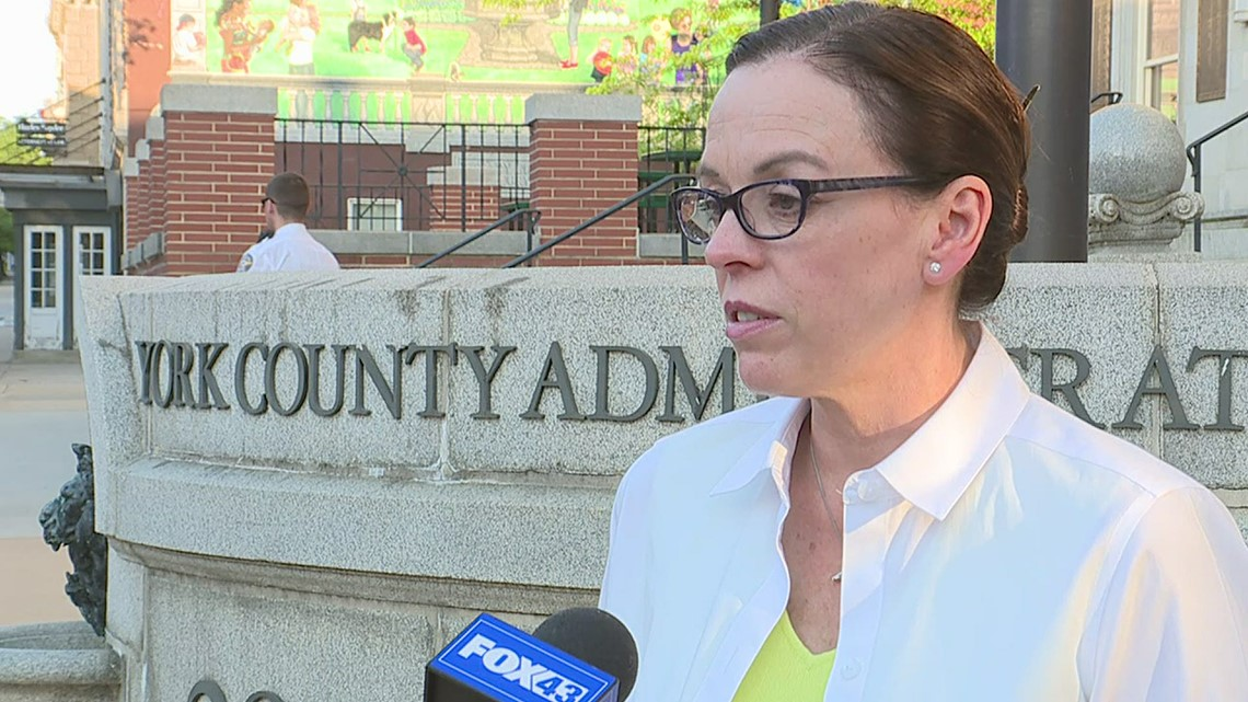 York County Commissioner Julie Wheeler explains mix up with Republican ballot shortages across the county