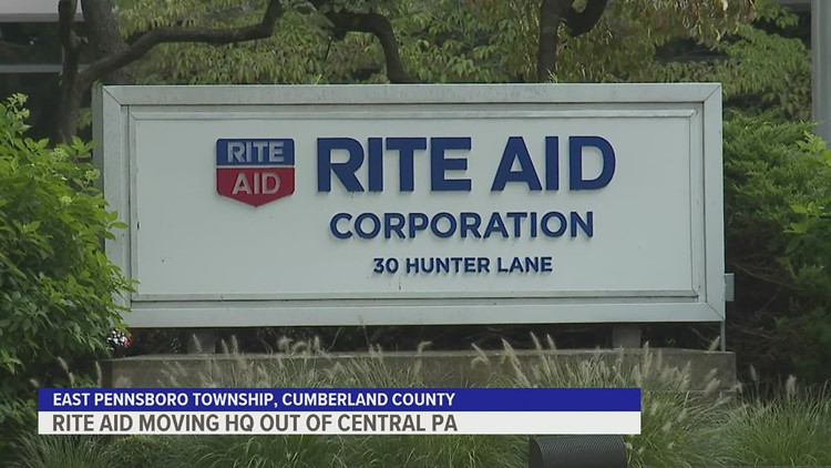 Rite Aid moving its headquarters out of Central Pennsylvania
