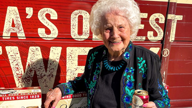 Yuengling delivers truckload of Lager to 106-year-old superfan