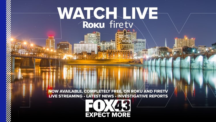 Stream WPMT-FOX43 on-demand in your living room with Roku & FireTV