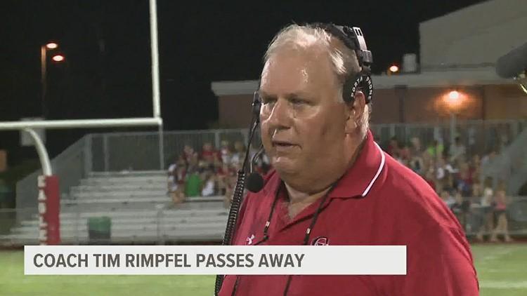 Tim Rimpfel, legendary high school football coach passes