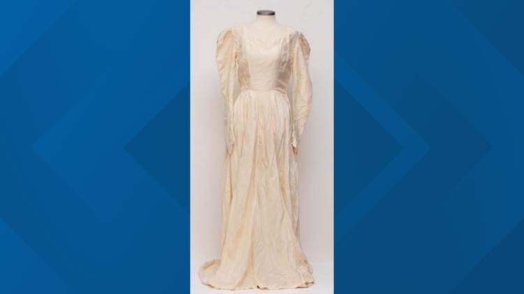 York County woman donates German parachute wedding dress to National WWII Museum