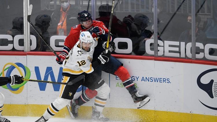 Kapanen, Guentzel push Penguins to 3-2 OT win over Capitals
